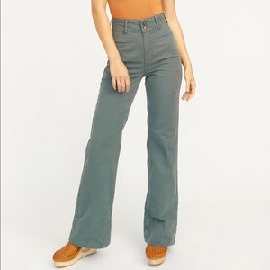 Free people Hattie high waisted flare pants